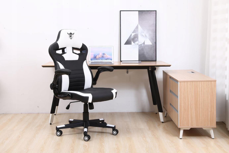 Кресло офисное игровое поворотное для письменного стола Высота мебели 121 см.
