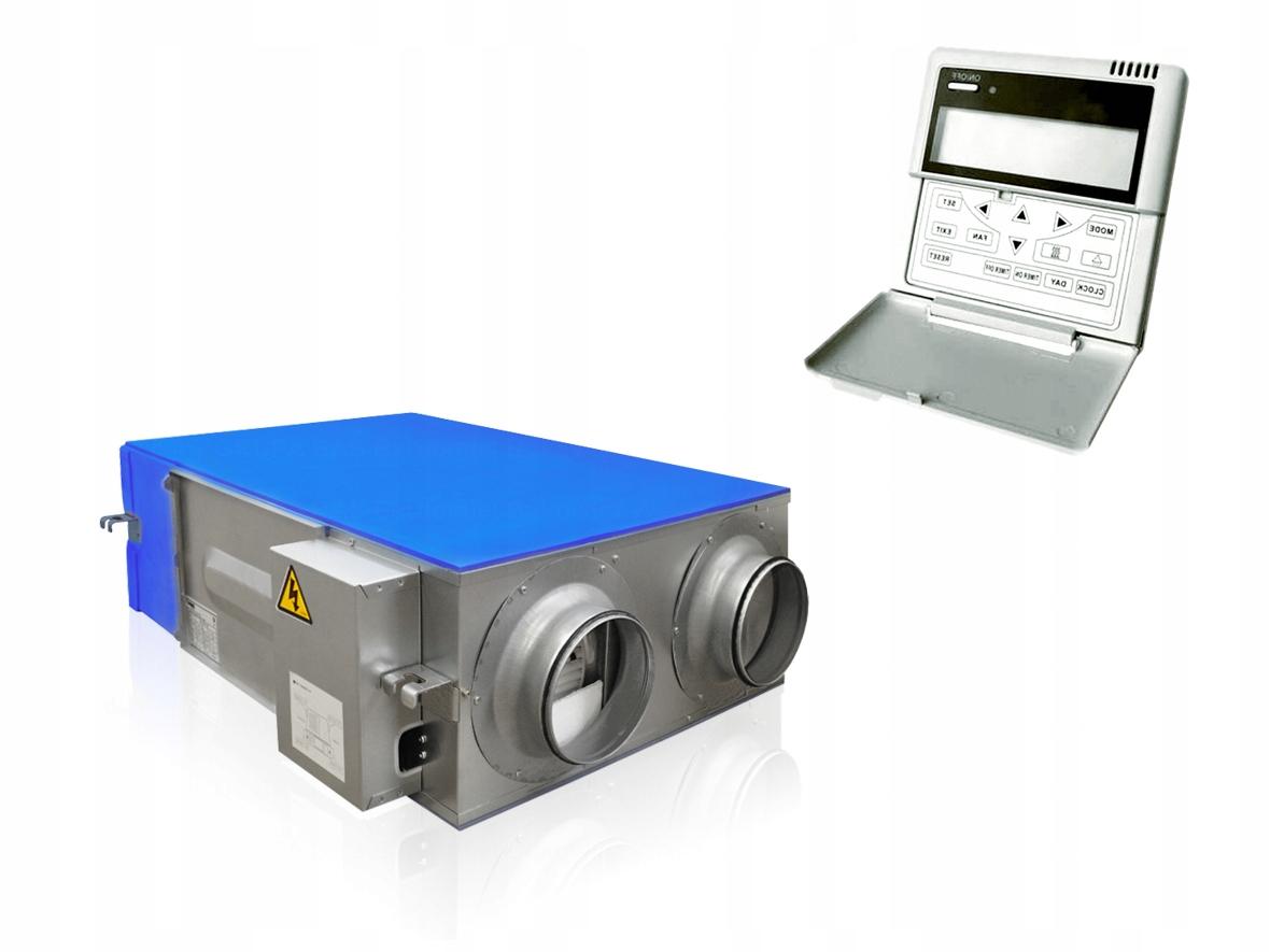 рекуператор с рекуперацией тепла и влаги 250м3/ч