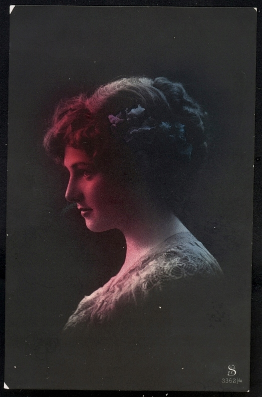 Женский портрет - S.L.J.F.F. Шёнеберг 1915