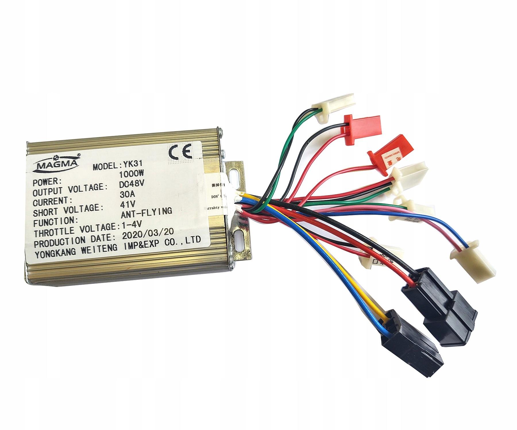 Elektrický ovládač pre štvorkolku 48V 1000W