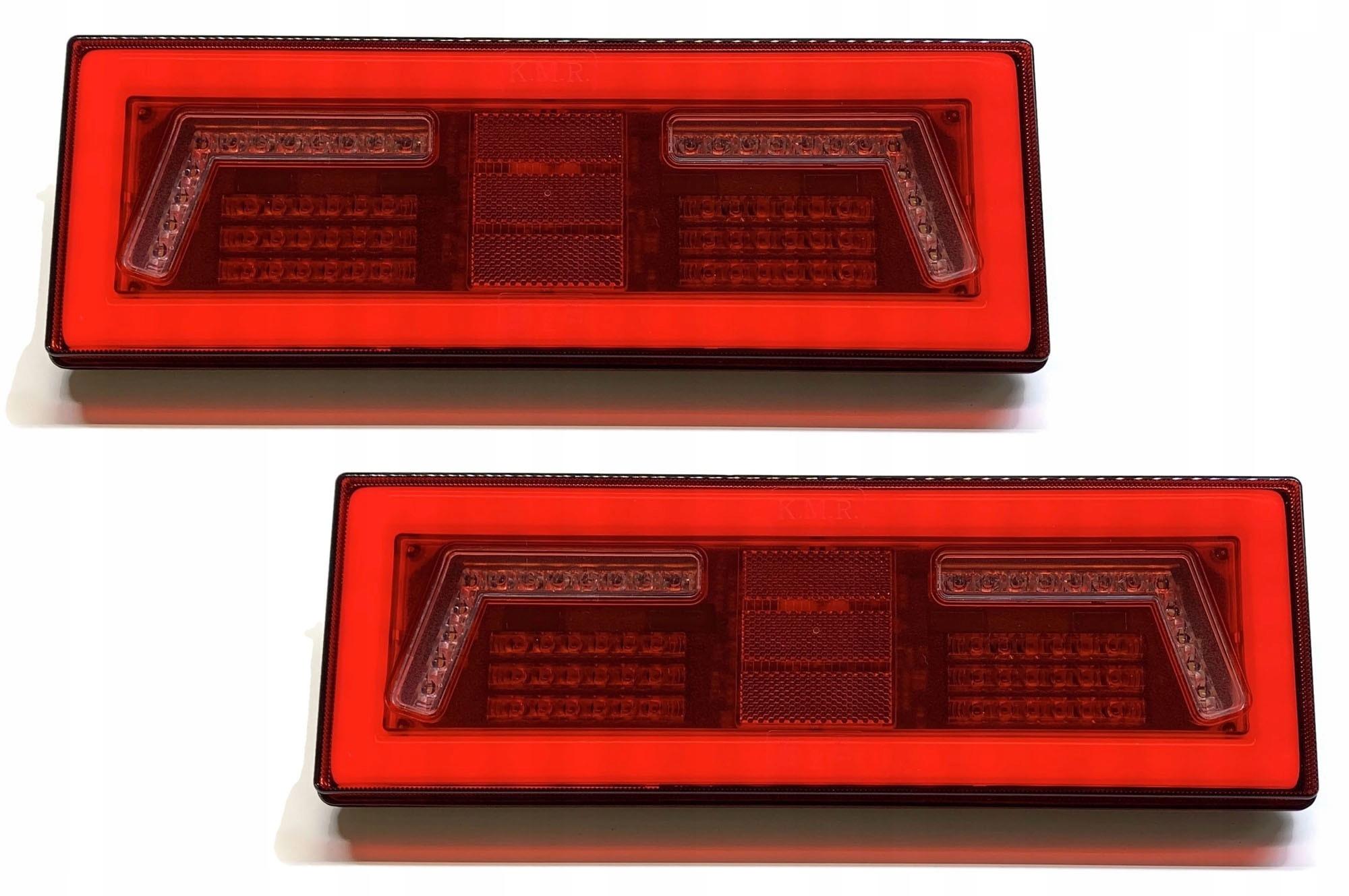 2x лампа led мост фонарь неон tir kmr 12v 24v