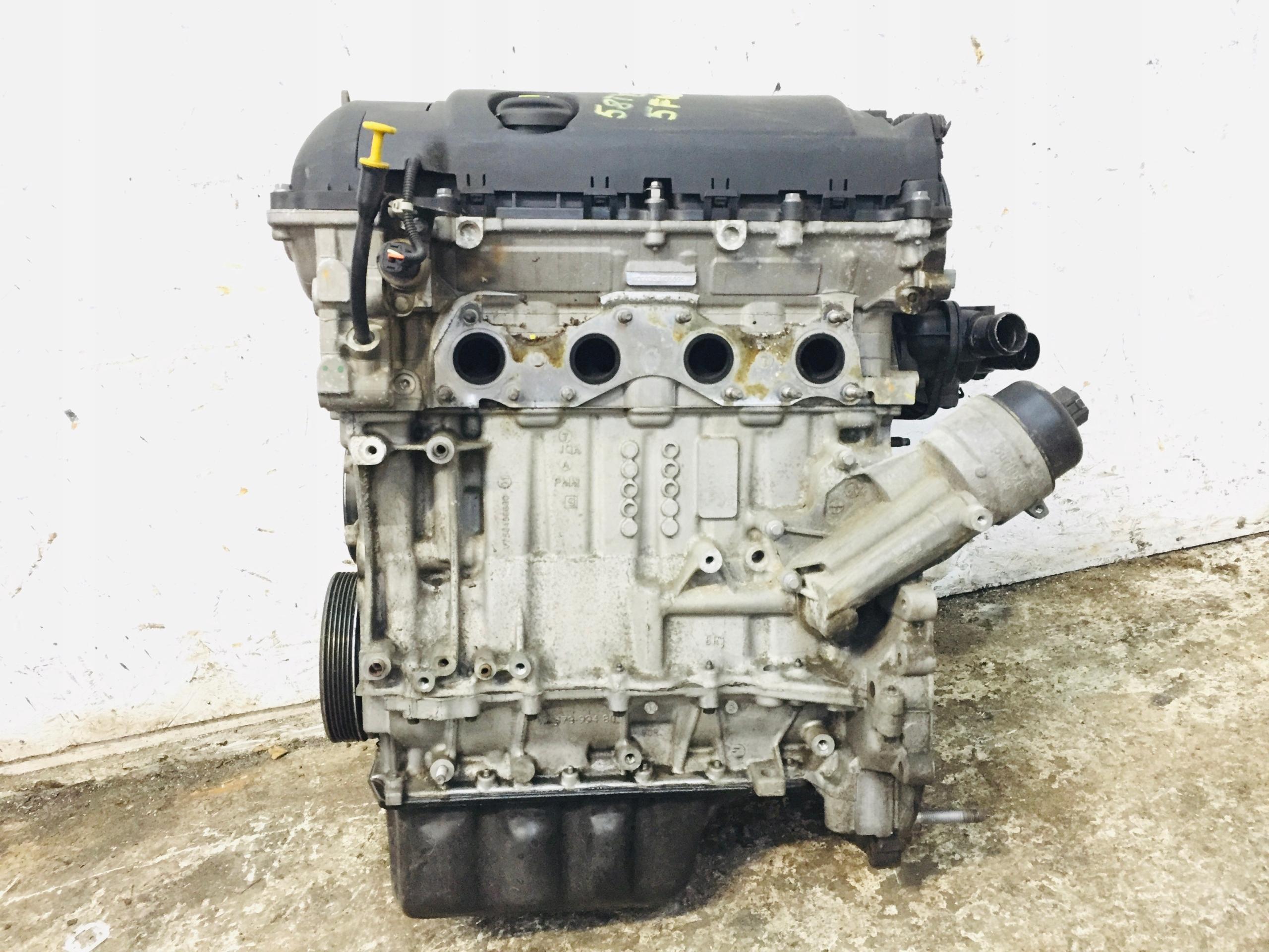 двигатель 1 6 vti 5fw 120 лошадей peugeot citroen 58tys