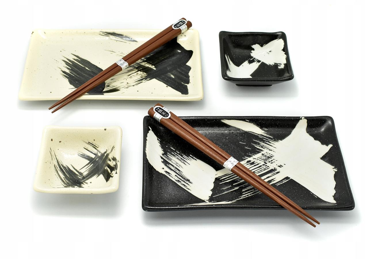 Sada sushi - Black&Biele [6041065]