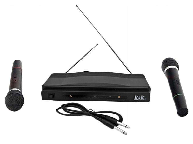 Karaoke Station Set + 2 trådløse mikrofoner modell Karaoke Station Set