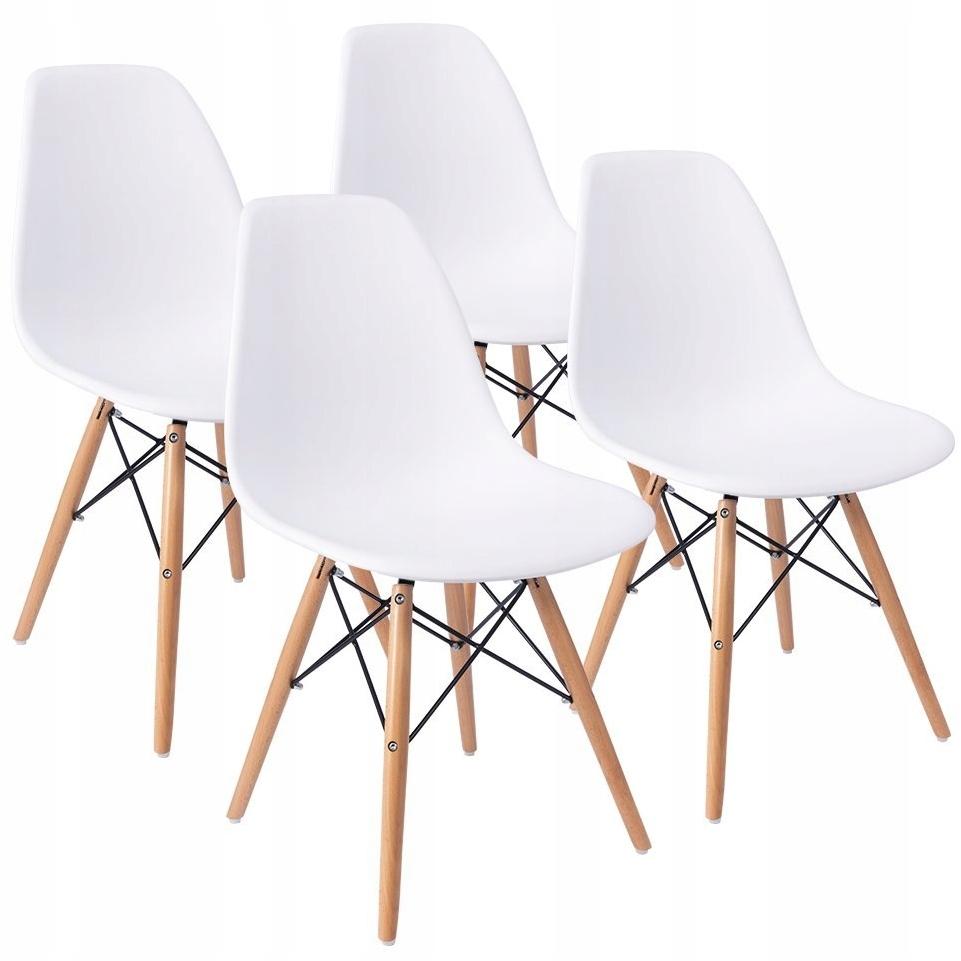 4x СОВРЕМЕННЫЙ офисный стул DSW гостиная