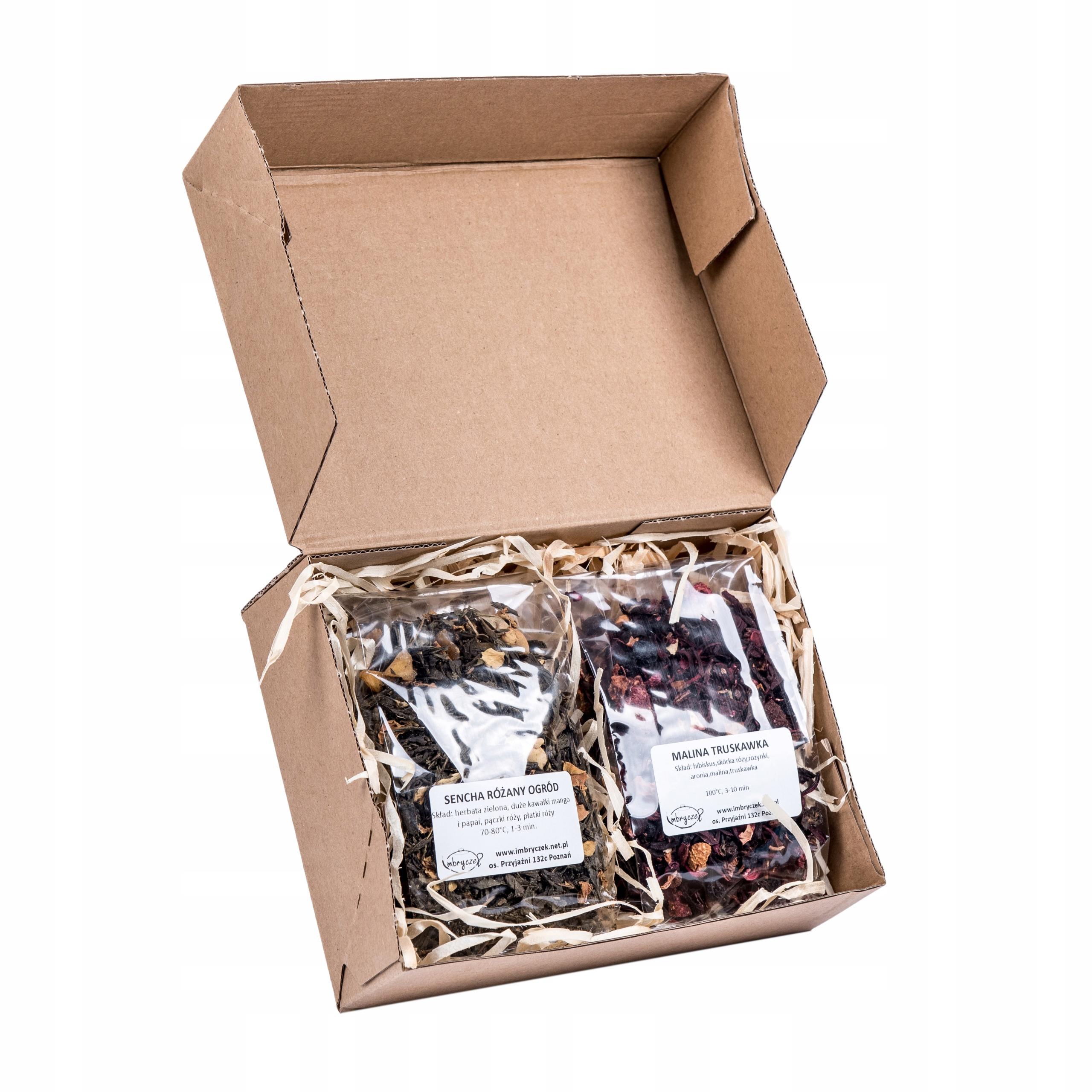 Чайный подарочный набор 2 x 30 г Mix Mega gift