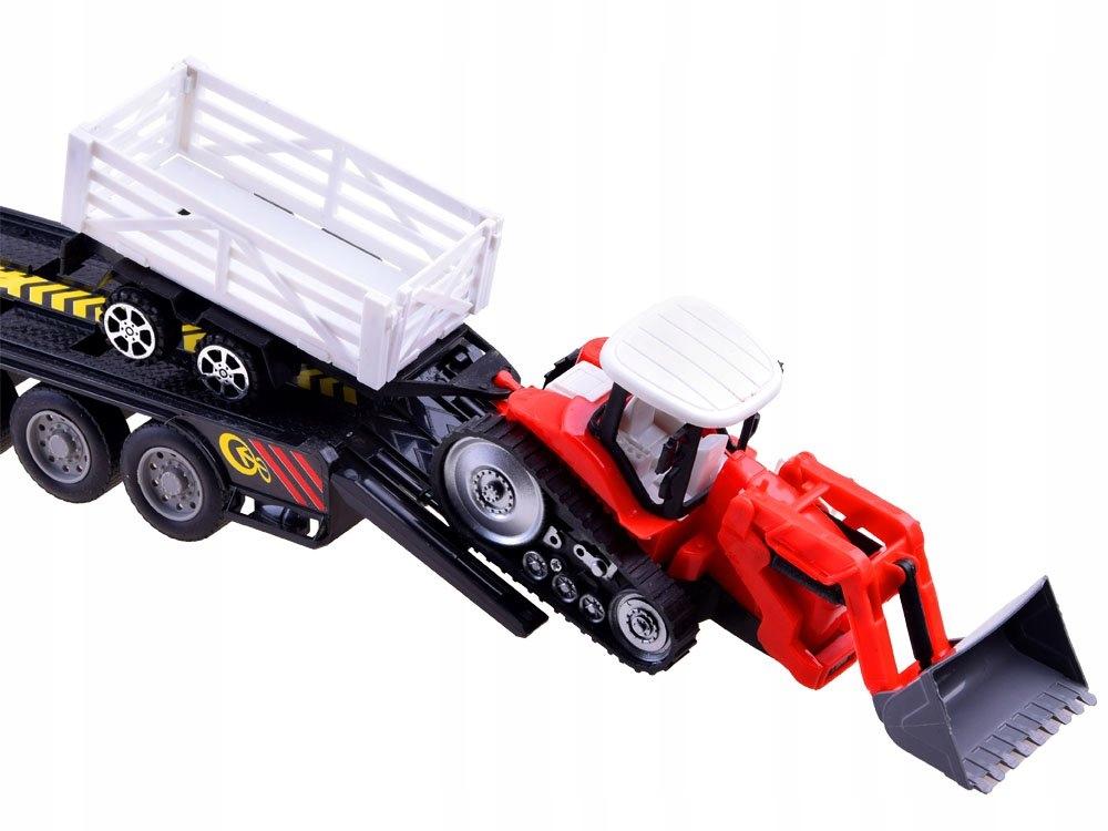 Tir Laweta + Traktor z Przyczepą Zestaw R/C RC0208 Wiek dziecka 6 lat +