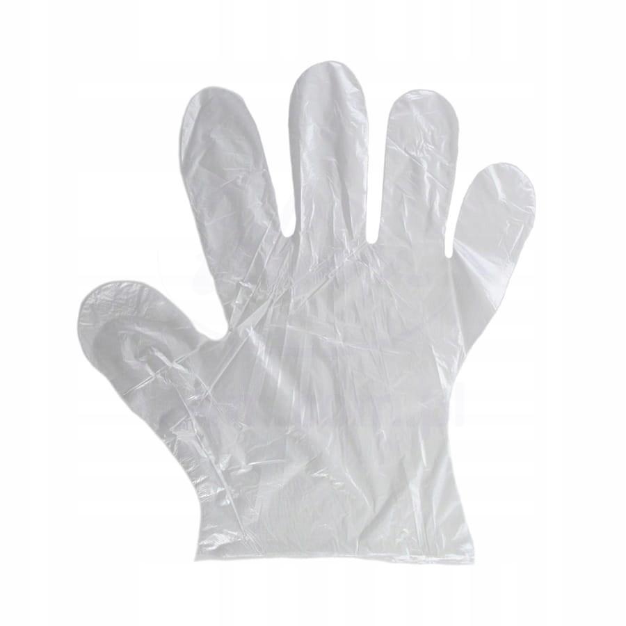 Rękawiczki Rękawice Foliowe Ochronne LDPE 1000 szt