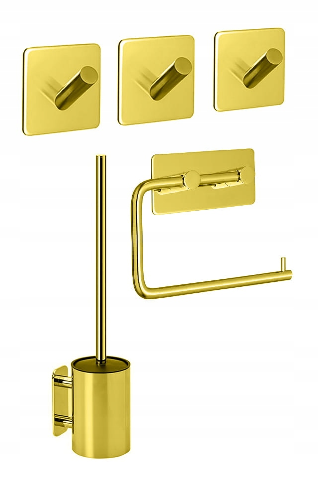 Sada kúpeľňových doplnkov Base 2 gold