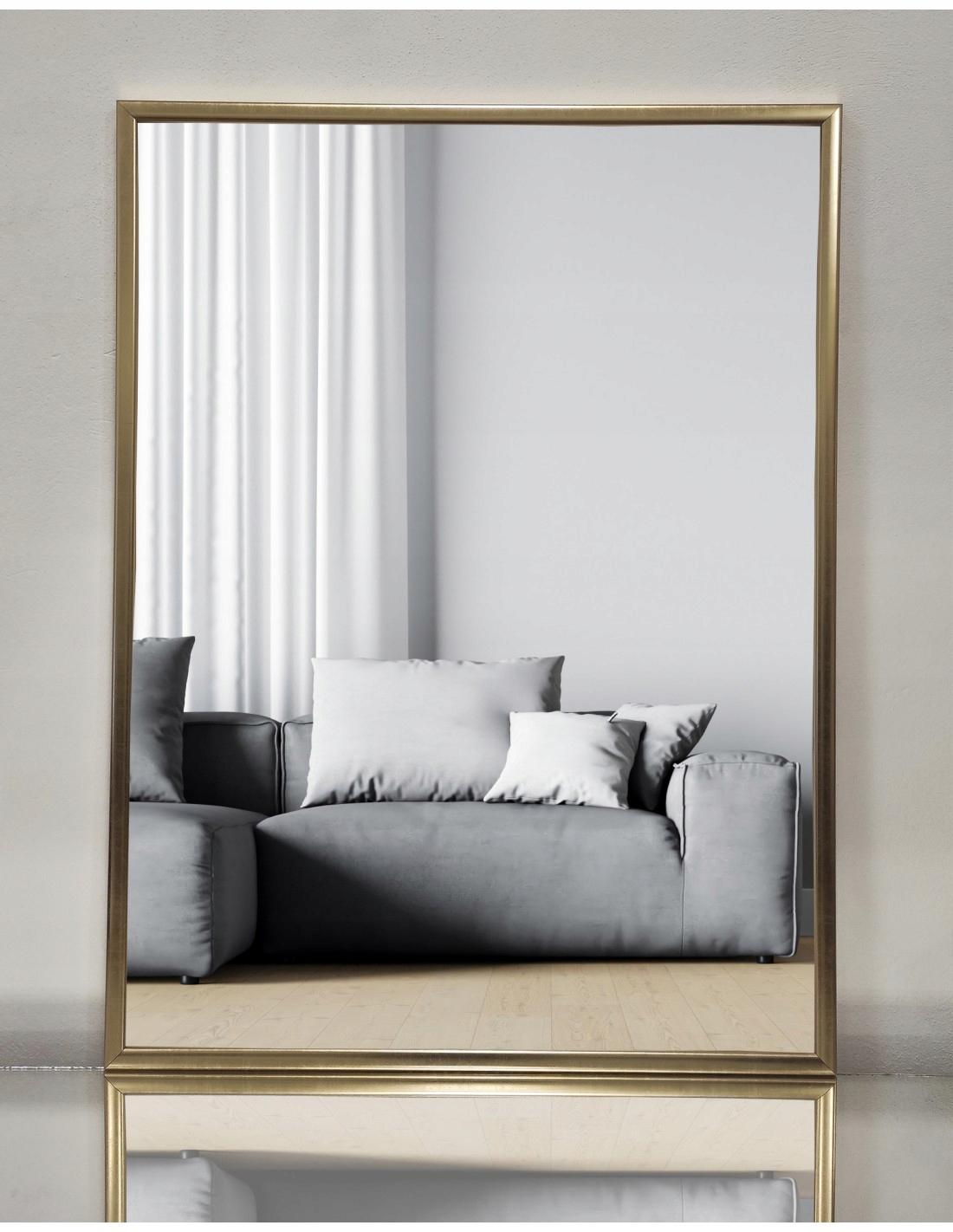 Зеркало 100х200 в деревянной раме ПРОИЗВОДИТЕЛЬ 2503
