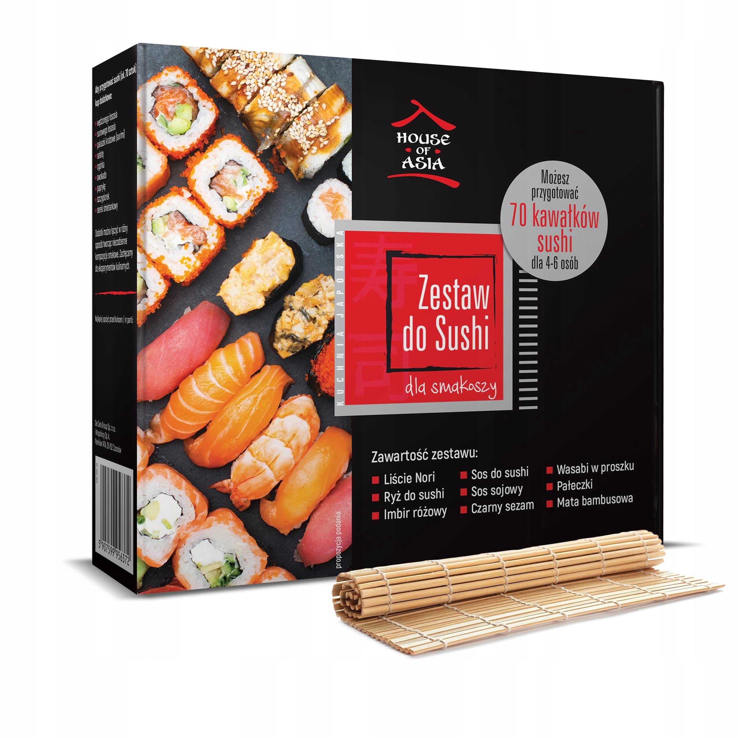 Набор суши премиум-класса на 4-6 человек 1,1 кг