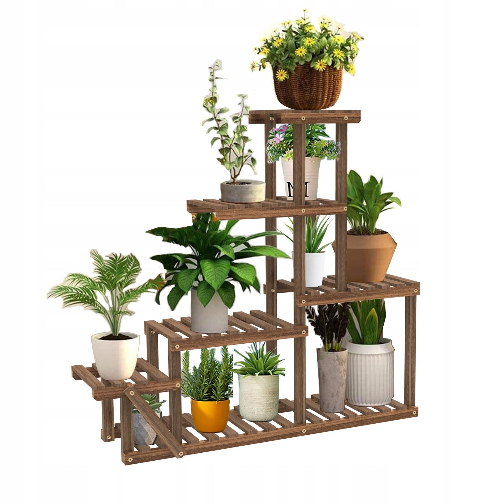 8 слоев клумбы деревянная подставка для цветов 96см