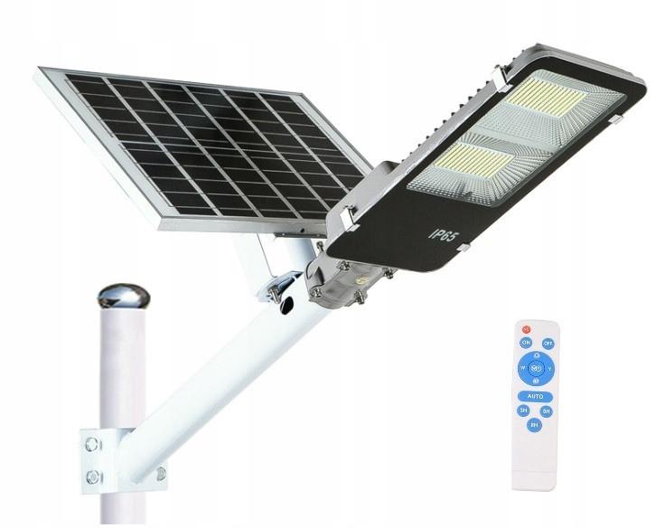 Lampa Solarna Latarnia Uliczna 200W +Panel +Uchwyt