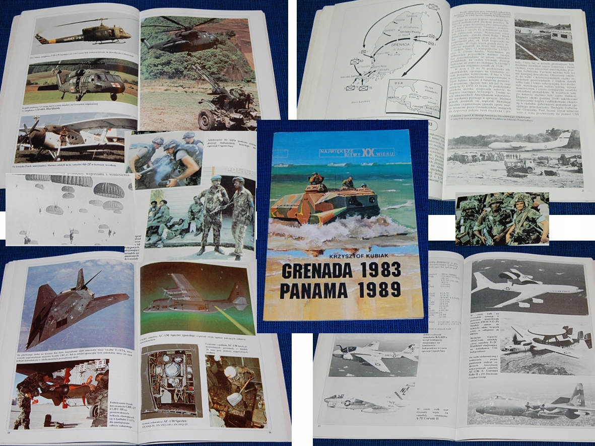 'Гранада 1983 Панама 1989'