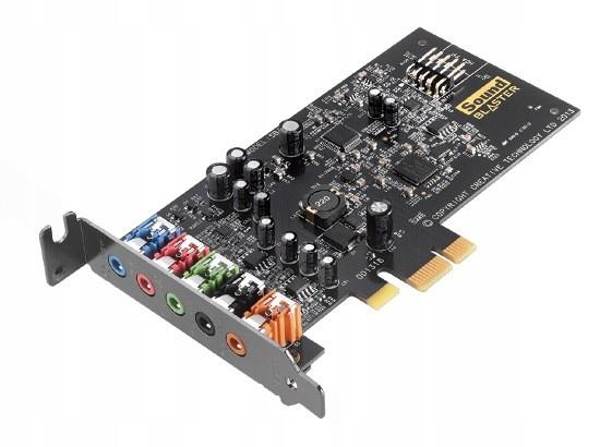 Купить Внутренняя музыкальная карта Creative SB Audigy FX PCIE на Otpravka - цены и фото - доставка из Польши и стран Европы в Украину.