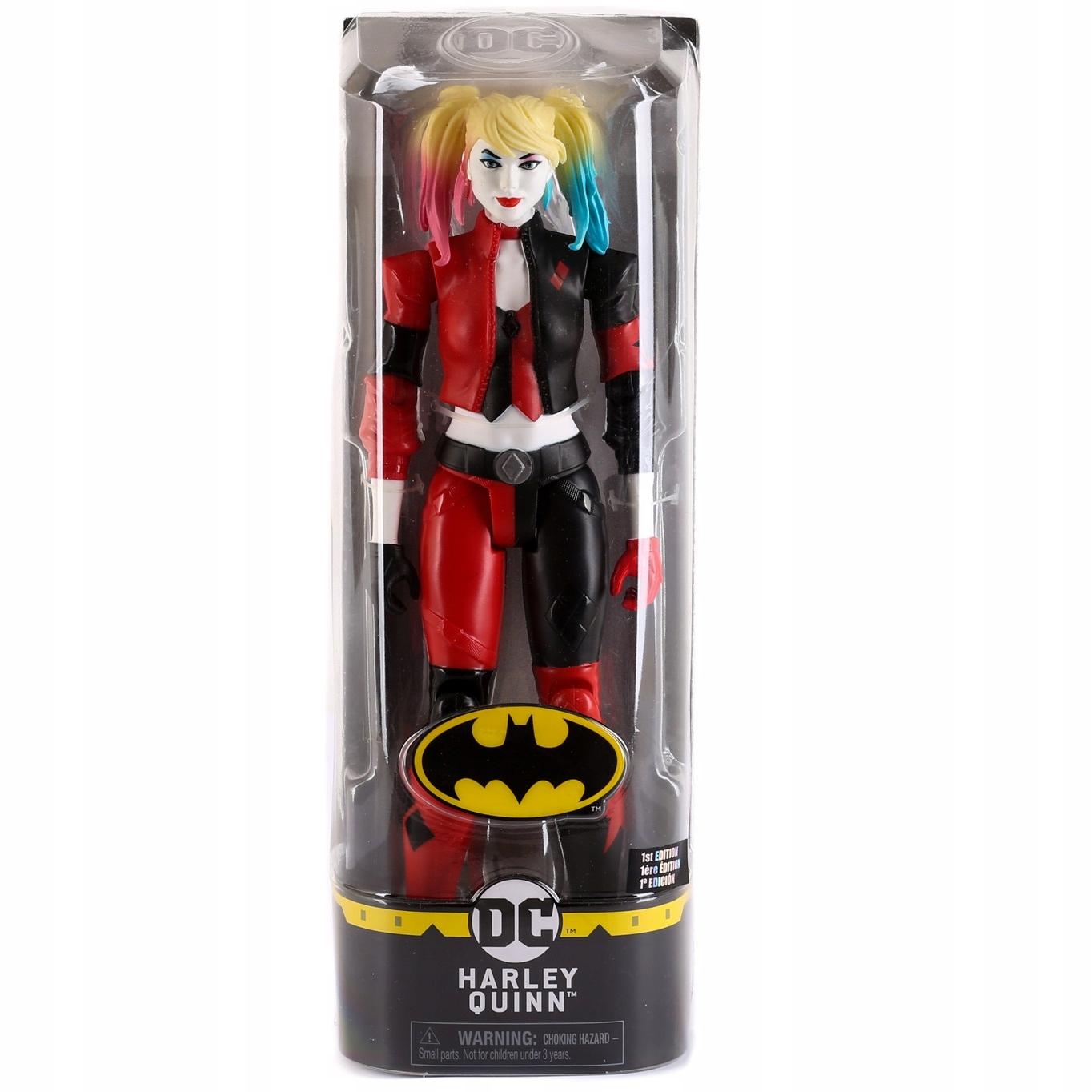 DUŻA FIGURKA HARLEY QUINN 30cm SPINMASTER BATMAN Bohater Batman