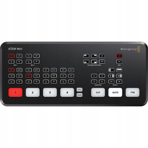 Купить BMD ATEM mini - микшер, стриминг, HDMI на Otpravka - цены и фото - доставка из Польши и стран Европы в Украину.