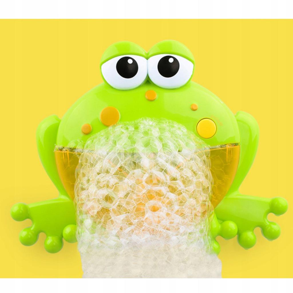 Żaba bąbelkowa do robienia piany żabka 1111-19 Materiał Plastik