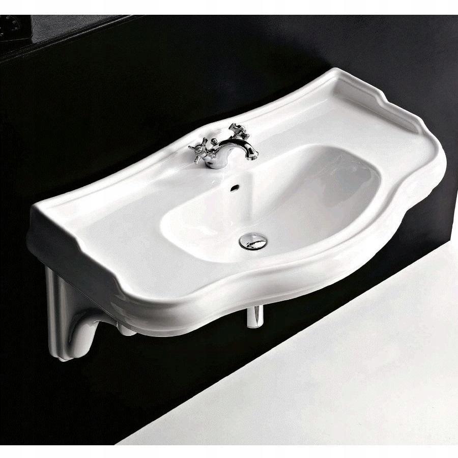 Kerasan Retro umývadlo biele prívesok 100