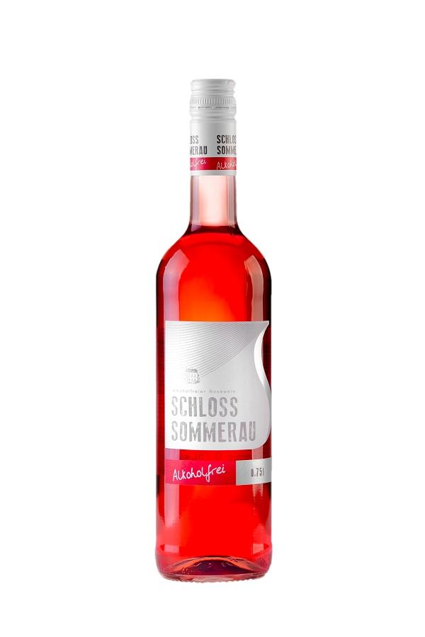 SCHLOSS SOMMERAU - безалкогольное розовое вино