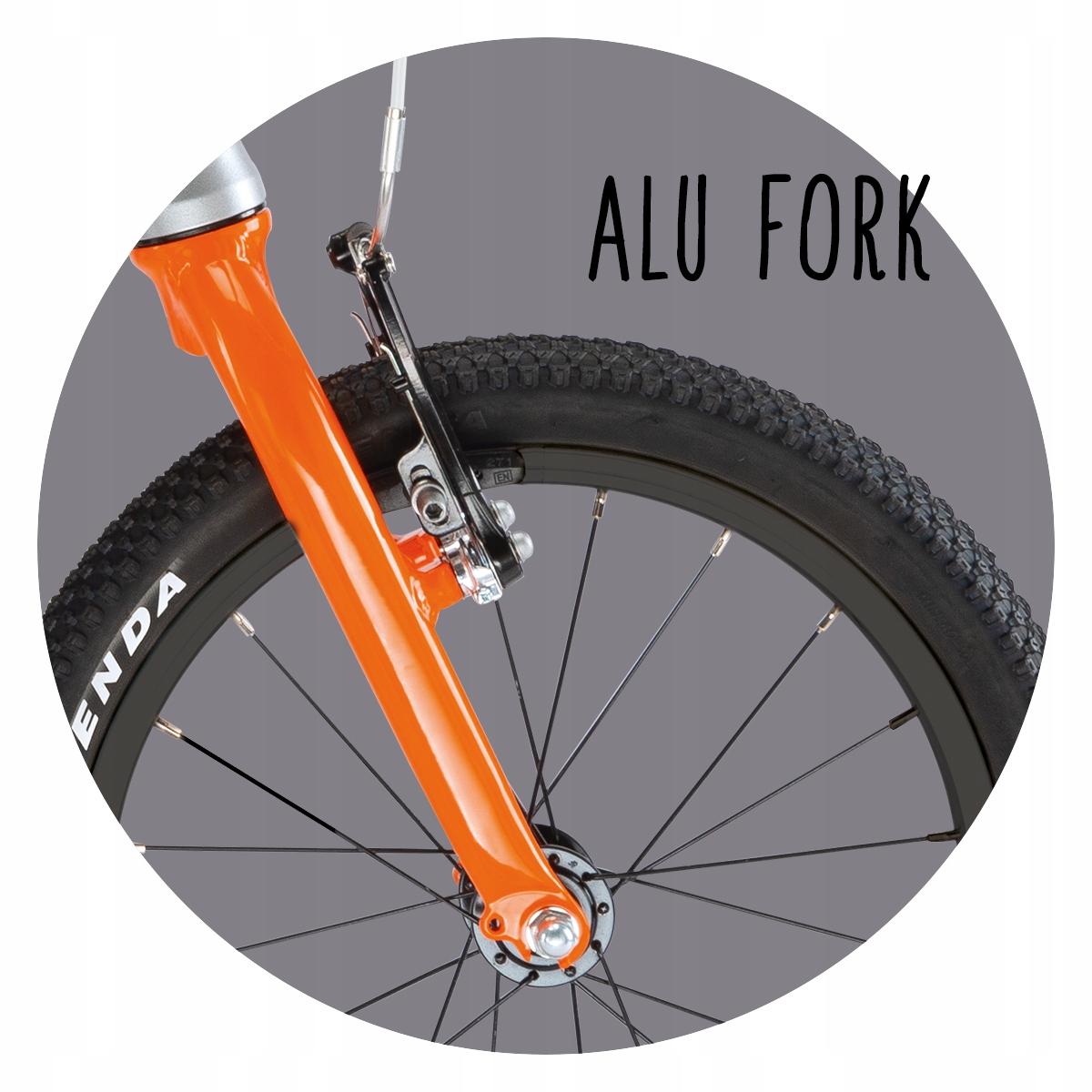 """Lekki Rower PUKY LS-PRO 16-1 Alu Waga 5,90 kg 4414 Rozmiar koła ("""") 16"""