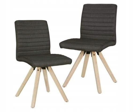 Wohnlingová retro jedálenská stolička Sola z 2 kusov