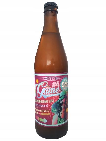 Пиво Игр №4 (безалкогольное 0,5%), Пивоварня Радуга