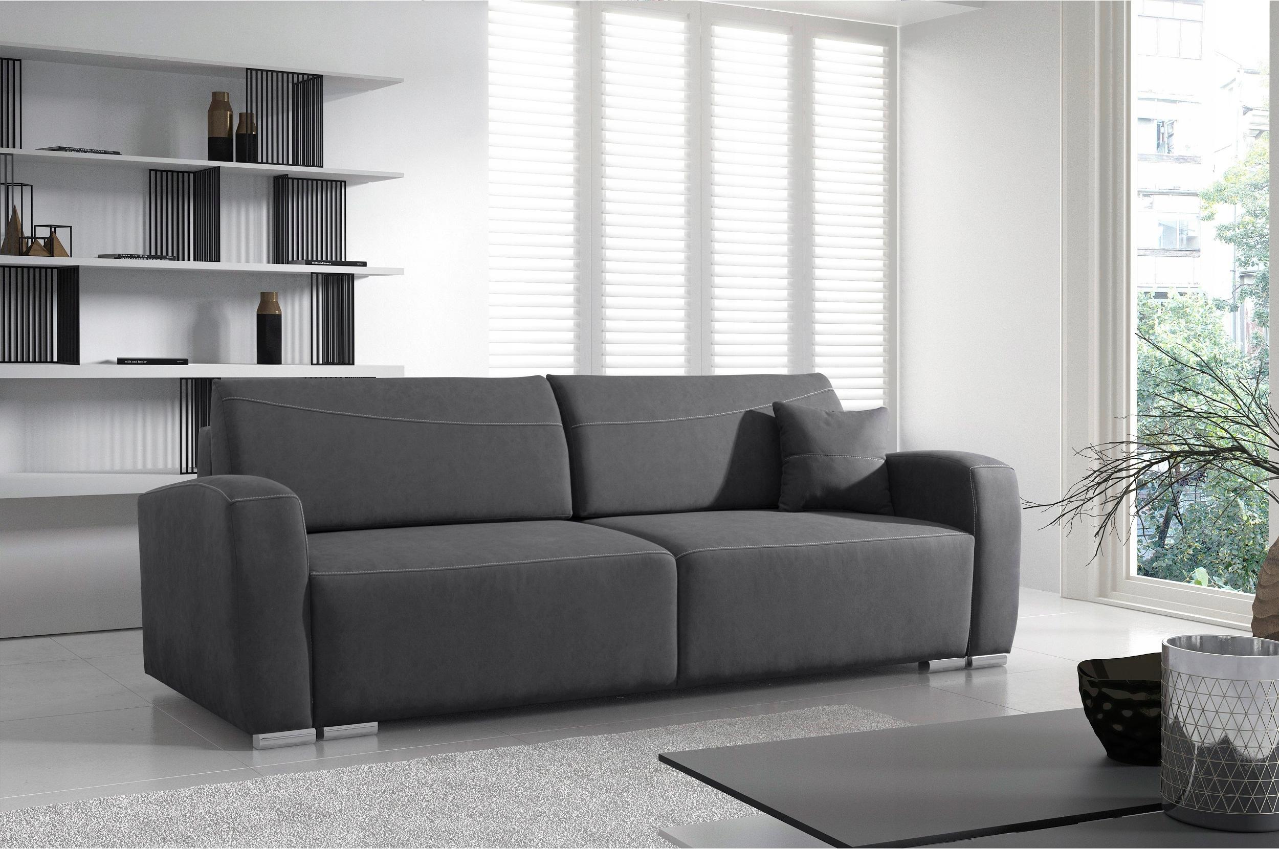 RENO LUX stilvolles Sofa für das Wohnzimmer / f. Schlafen / Farben