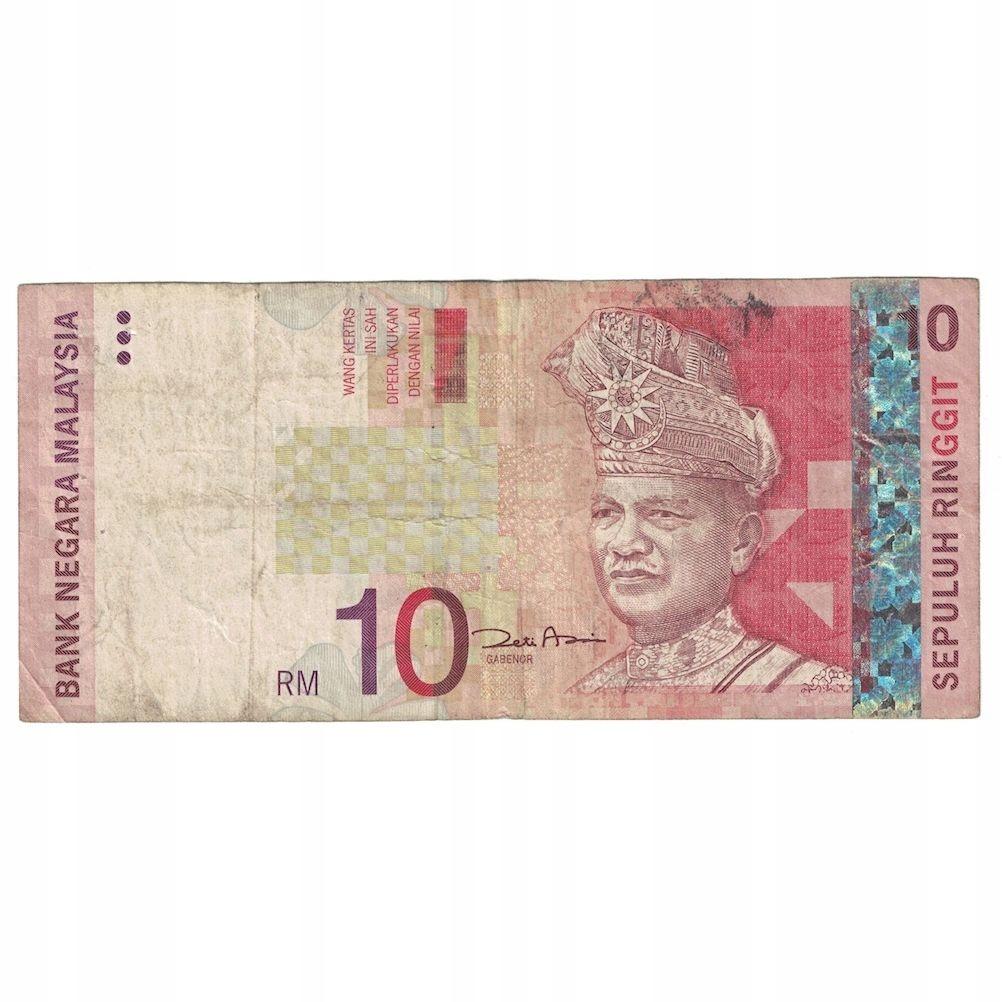 Банкнота, Малайзия, 10 ринггит, без даты (2001), КМ: 4