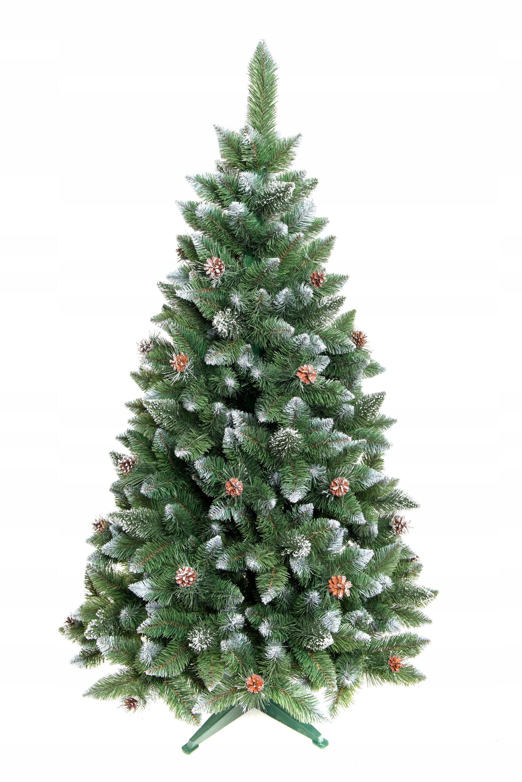 Vianočný stromček DIAMOND Umelá borovica 90 cm HUSTOTA Výška (cm) až 100 cm