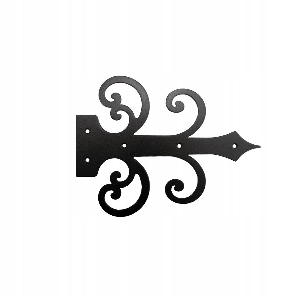 Zawias ozdobny atrapa dekoracyjny kuty 30 cm A 15
