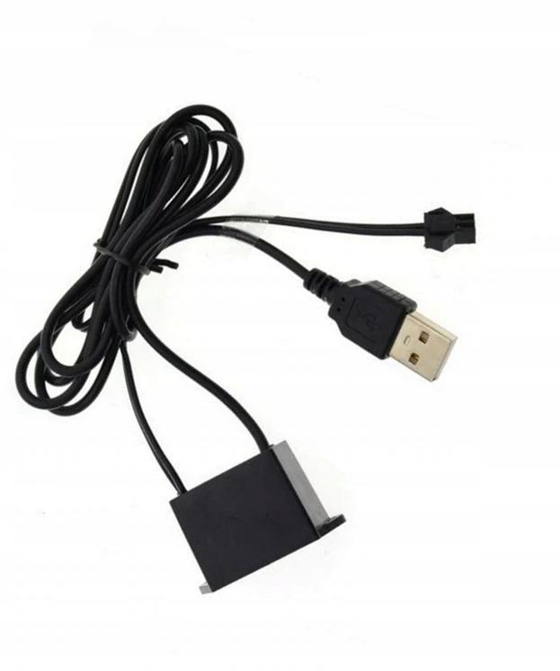 инвертор usb преобразователь к Волоконно-оптического кабеля el wire