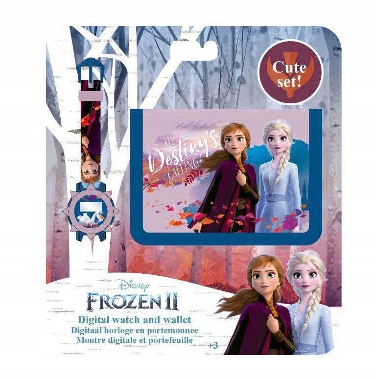Frozen Frozen 2 peňaženka a hodinky