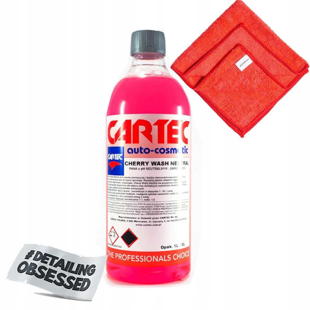 Cartec Cherry Wash 1Л Нейтральный pH