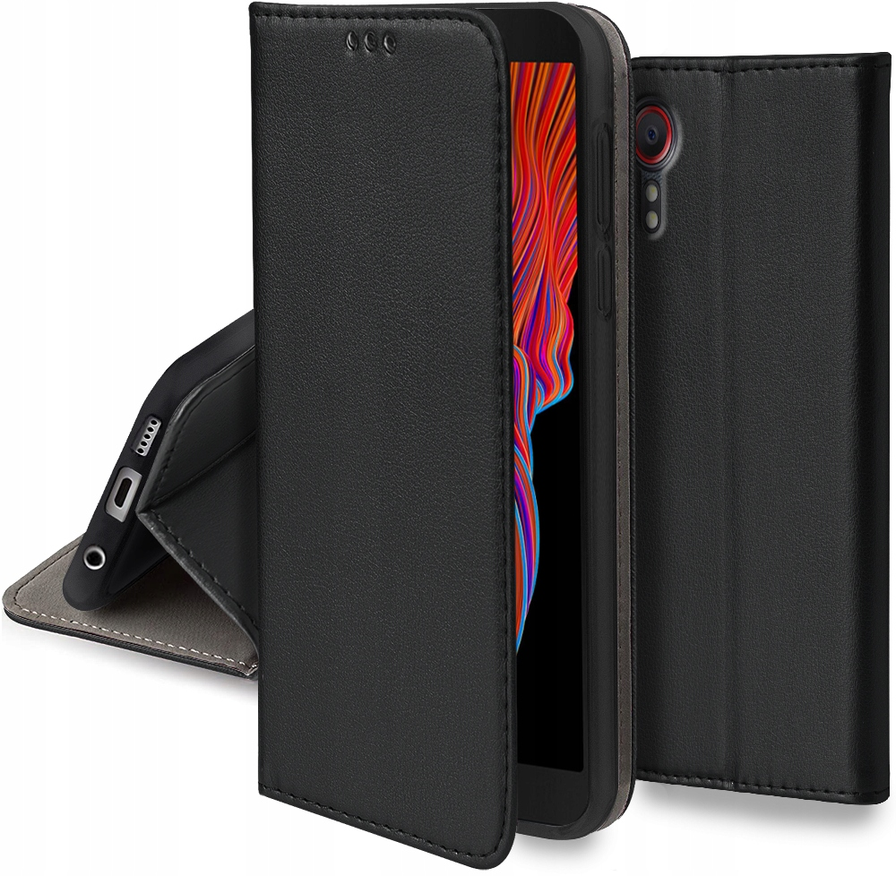 Etui Magnet Case +Szkło do Samsung Galaxy Xcover 5