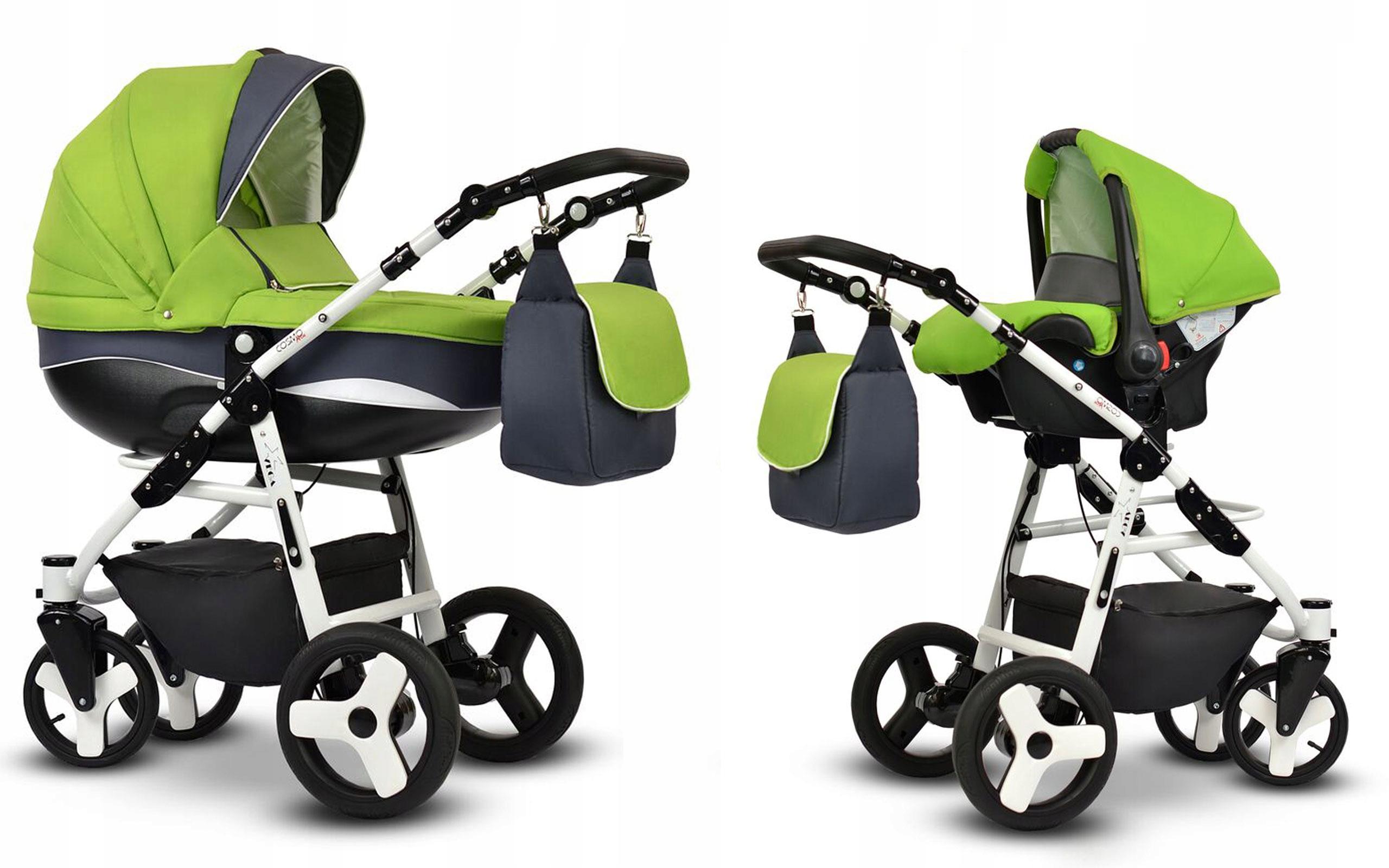 Купить Детская коляска Cosmo Sport Vega gondola + автокресло на Otpravka - цены и фото - доставка из Польши и стран Европы в Украину.