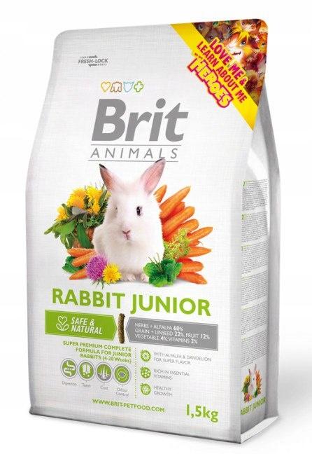 Корм Brit Animals для кроликов Юниор 1,5 кг