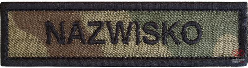 NAMESLIFE wz2010 ВЫШИВКА name на липучке Army RIP