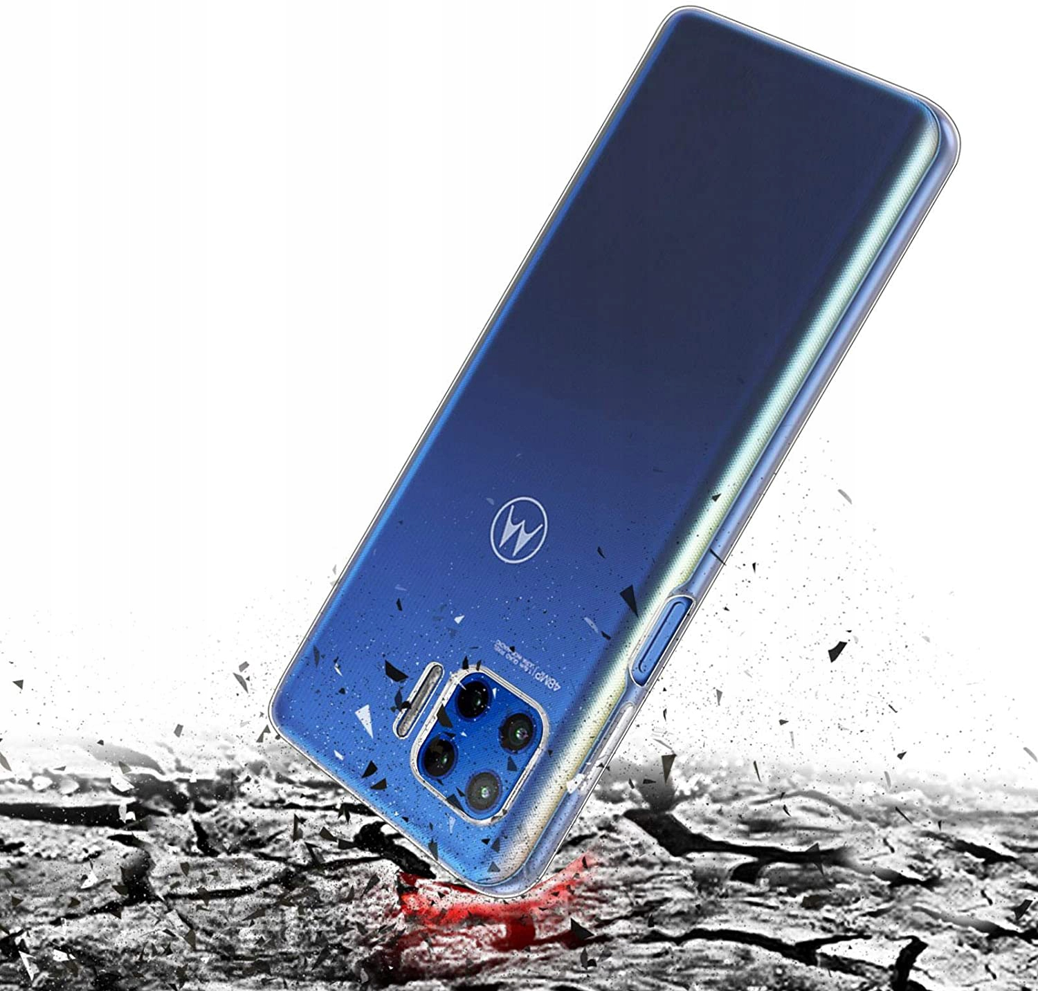 Etui do Motorola Moto G 5G Plus Clear Case + Szkło Kod producenta N36A