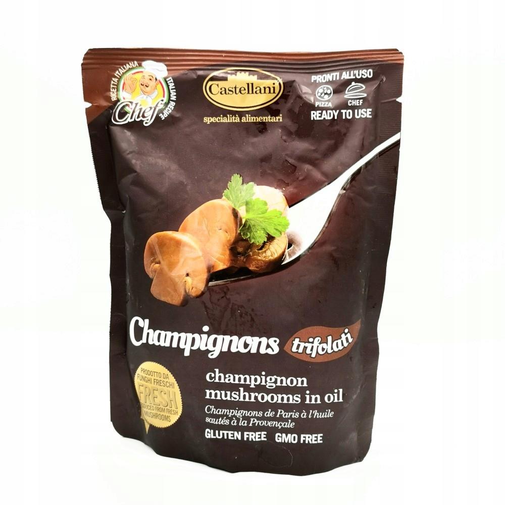 Pieczarki smażone mix 220 g Włoskie CASTELLANI