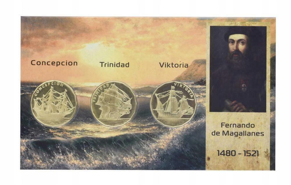 MACTANY zestaw 3 monet Conception Trinida Viktoria