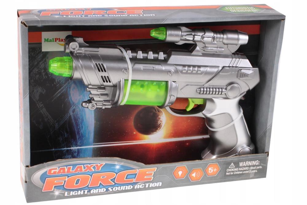 PISTOLET Świetlny Millenium Falcon WIBRACJE Broń Płeć Chłopcy