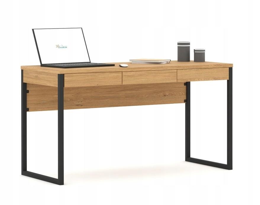 Металлический стол, столешница, 140см Meblik