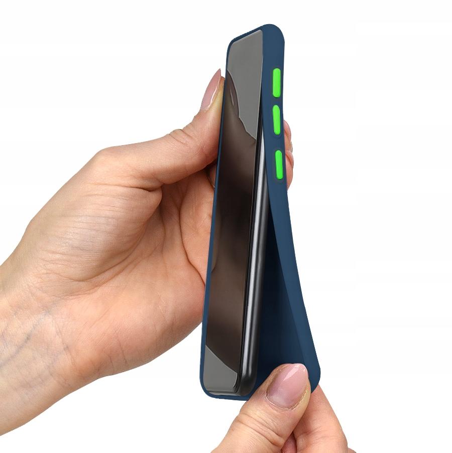 Etui do Samsung Galaxy A71 Case Silikon + Szkło 9H Kod producenta E2