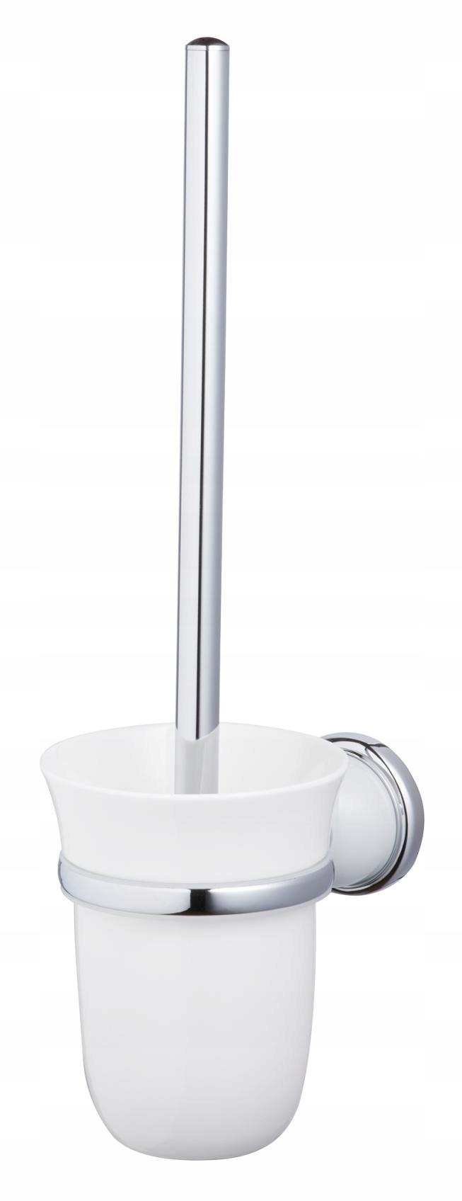 Závesná toaletná kefa v keramickej retro nádobe