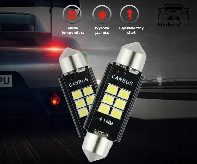 Żarówka C5W CANBUS - Rejestracja/Wnętrze. - 36mm Producent inny