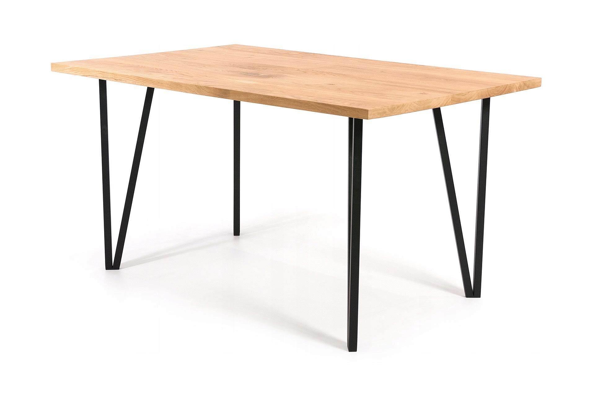 RÁM 100x160 dubový retro priemyselný loftový stôl
