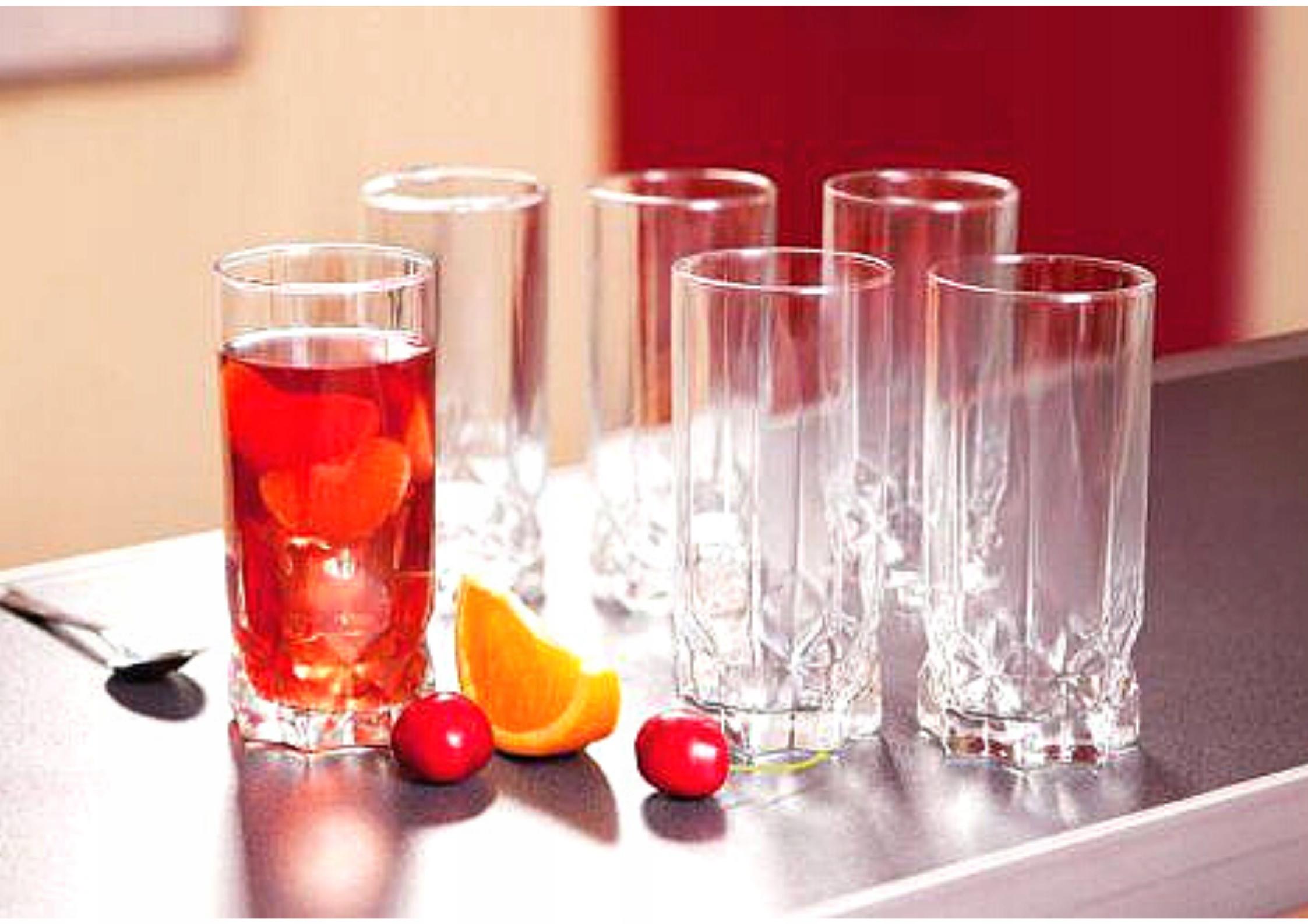 ZESTAW SZKLANEK DO DRINKÓW NAPOJÓW 6 SZT AMBITION EAN 5904134646835
