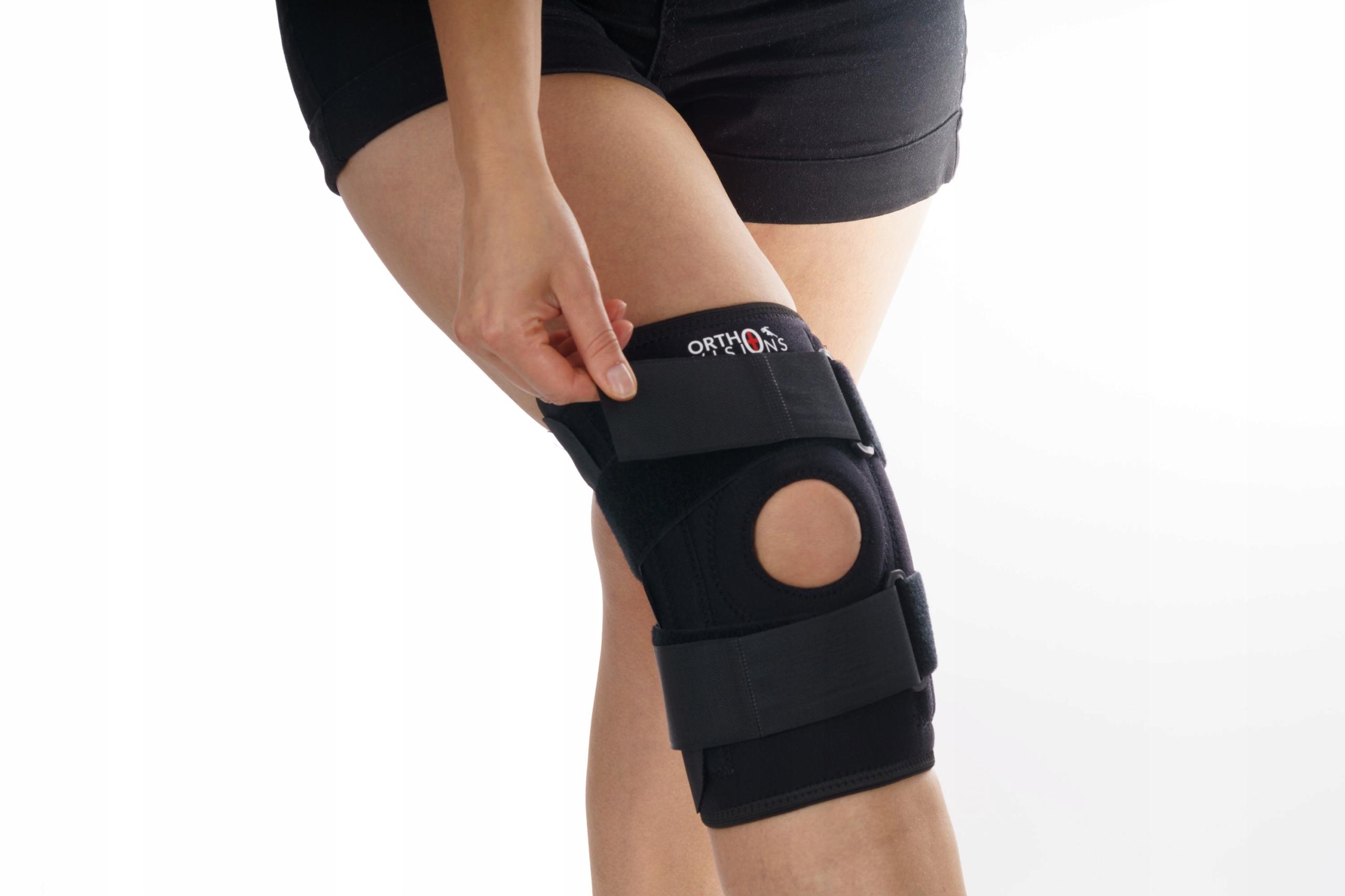 STABILIZÁTOR KOLENNÍ ORTÓZY S PÁSEM Spodní prádlo x4 Typ kolenní ortéza