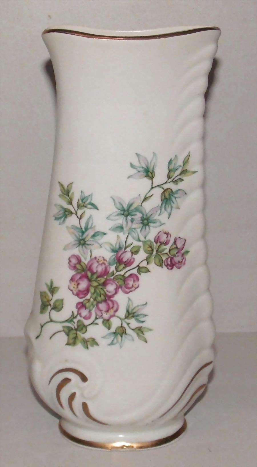Wazon Porcelana Włocławek Kwiaty